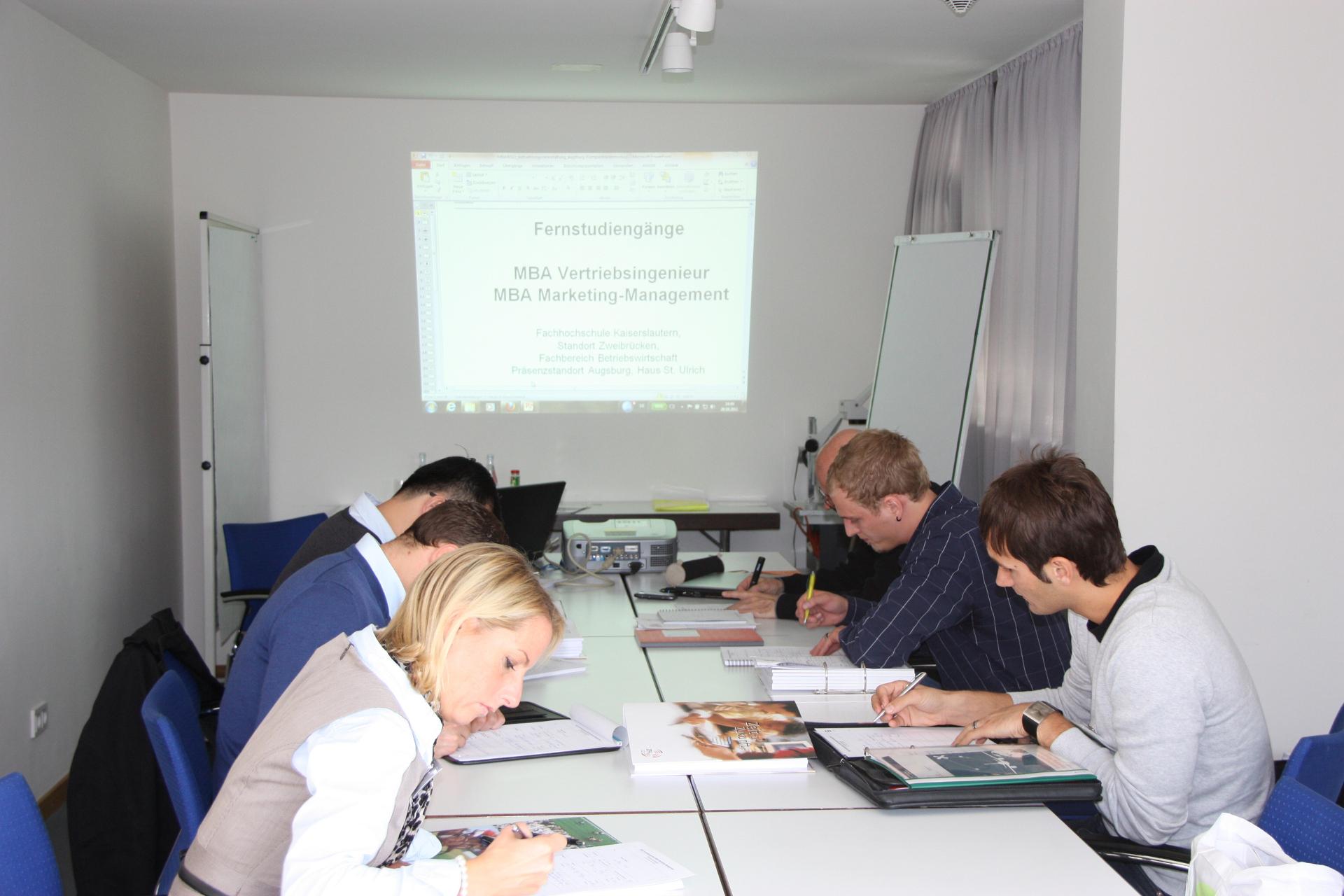 In Augsburg zum MBA weiterqualifizieren