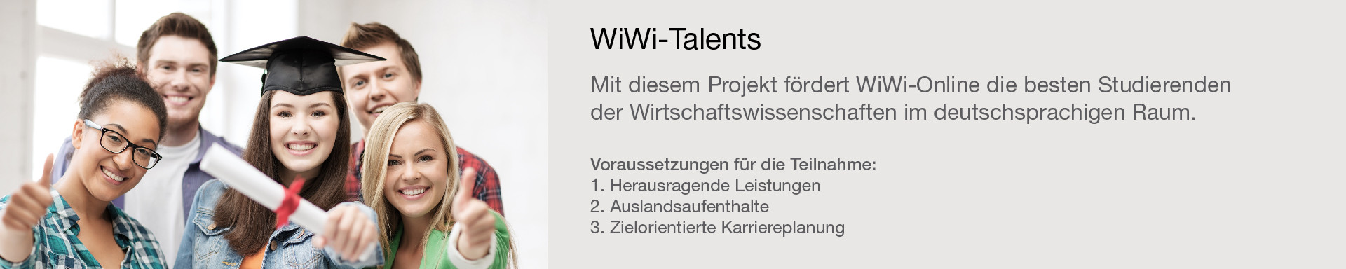 WiWi-Talents Programm