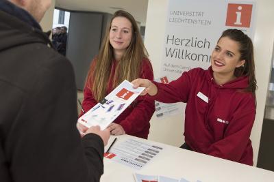 Infoabend für Bachelorstudiengänge an der Universität Liechtenstein