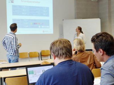 Informationsveranstaltung an der Hochschule Ludwigshafen am 28. April