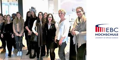 Studierende der EBC Hochschule Hamburg zu Gast bei Montblanc