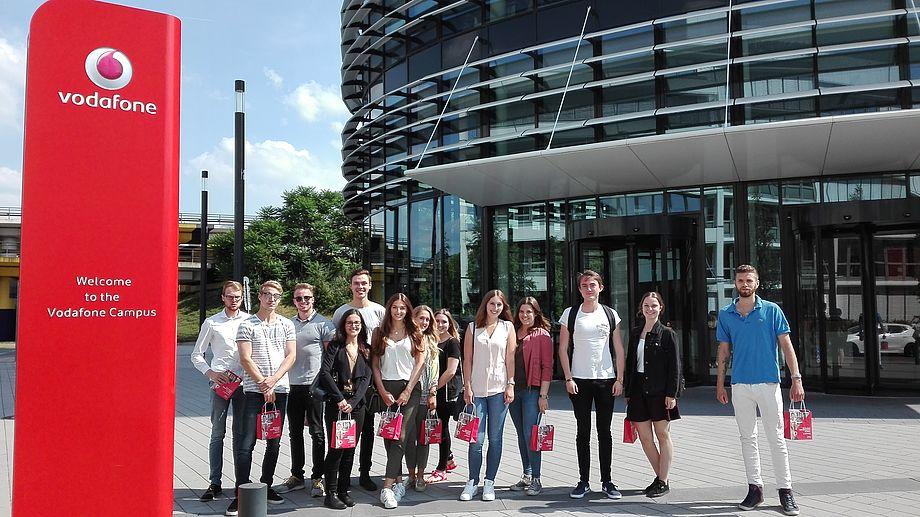 Campus-Rallye durch den Düsseldorfer Standort