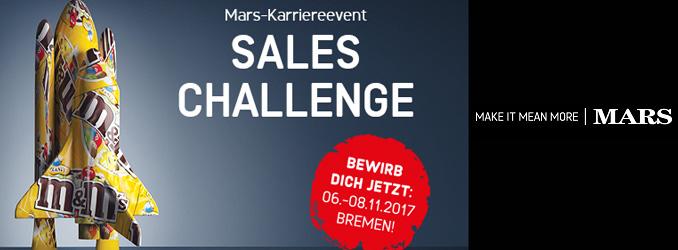 LAST CALL |  Mars Sales Challenge