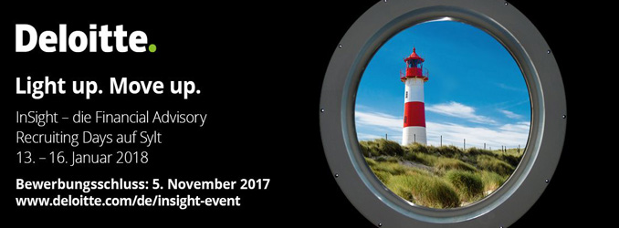 LAST CALL | InSight - Die Financial Advisory Recruiting Days auf Sylt