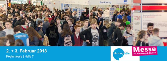 Schule und dann? Vielfalt auf der Einstieg Köln entdecken