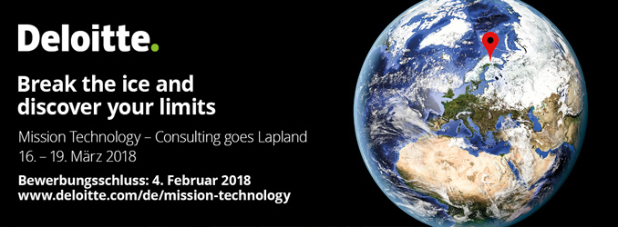 LAST CALL | Mission Technology - Consulting goes Lapland