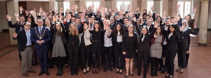 Frühjahrsstart an Deutschlands traditionsreichster Business-School