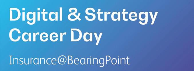 Jetzt noch schnell bewerben: Digital & Strategy Career Day