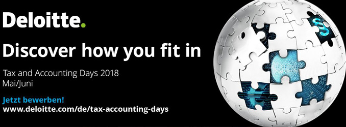 Deloitte Tax and Accounting Days in Frankfurt