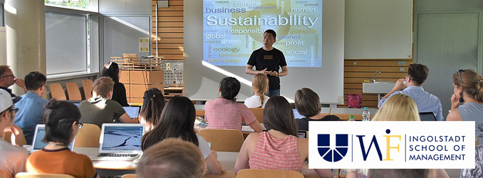 "Gastvortrag von Prof. Chen (Tongji University) zum Thema ""Sustainability in China"""