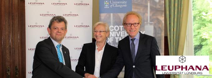 Leuphana und University of Glasgow unterzeichnen formelles Abkommen