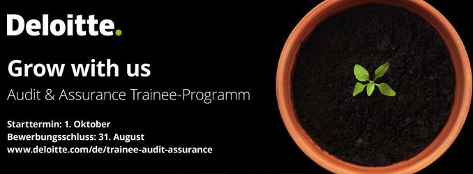 Trainee Audit & Assurance - Jetzt noch schnell bewerben!