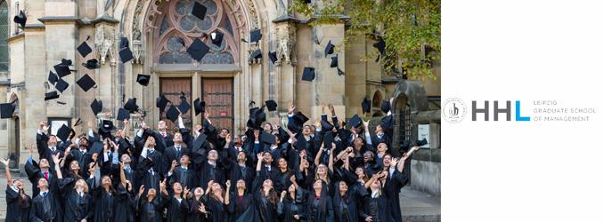 HHL feiert die Absolventen 2018