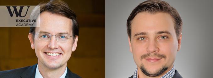 Zwei neue Professoren ab September an der WU