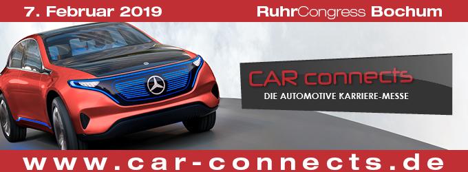 CAR-connects // RuhrCongress Bochum // 07.02.2019 // 10 – 16 Uhr // Eintritt frei