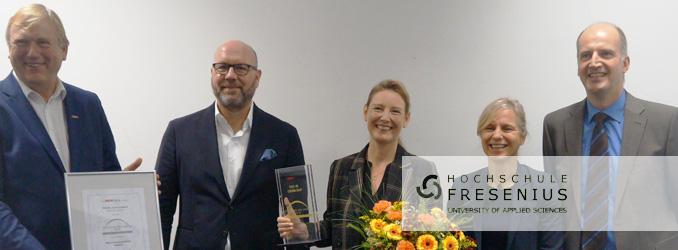 """Prof. Dr. Corinna Baum von der Hochschule Fresenius als """"Professorin des Jahres 2018"""" ausgezeichnet"""
