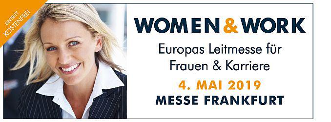 """women&work 2019: Die """"Female Patronage Group"""" setzt kraftvolle Akzente Dr. Leon Windscheid erstmals als """"Quotenmann"""" dabei"""