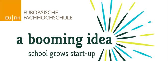 a booming idea – school grows start-up