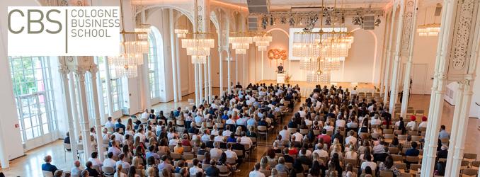 Studienstart für rund 400 Erstsemester an der Cologne Business School