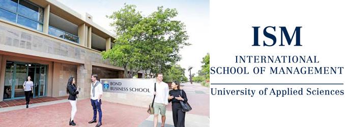 An der FH zum Doktor: Kooperation zwischen ISM und australischer Bond Business School