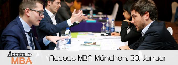 Die Exklusive MBA Veranstaltung am 30. Januar in München
