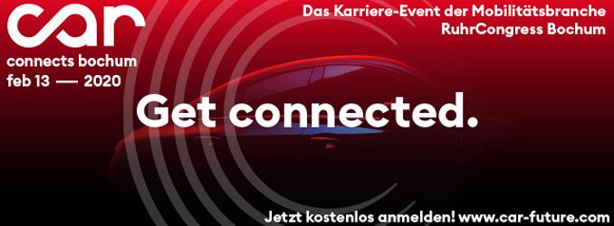 Car Connects Bochum 2020 – Das größte Karriere-Event der Mobilitätsbranche in Deutschland