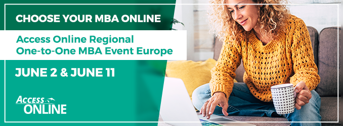 2. & 11. Juni - Access Online Regional Online MBA event Europe