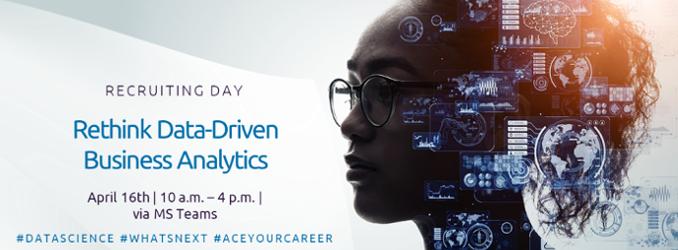 Recruiting Day – Rethink Data-Driven Business Analytics