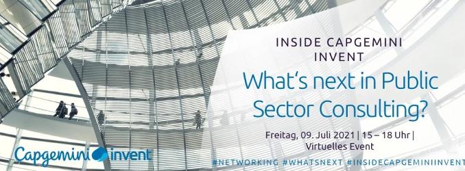 Inside Capgemini Invent – What's next in Public Sector Consulting?