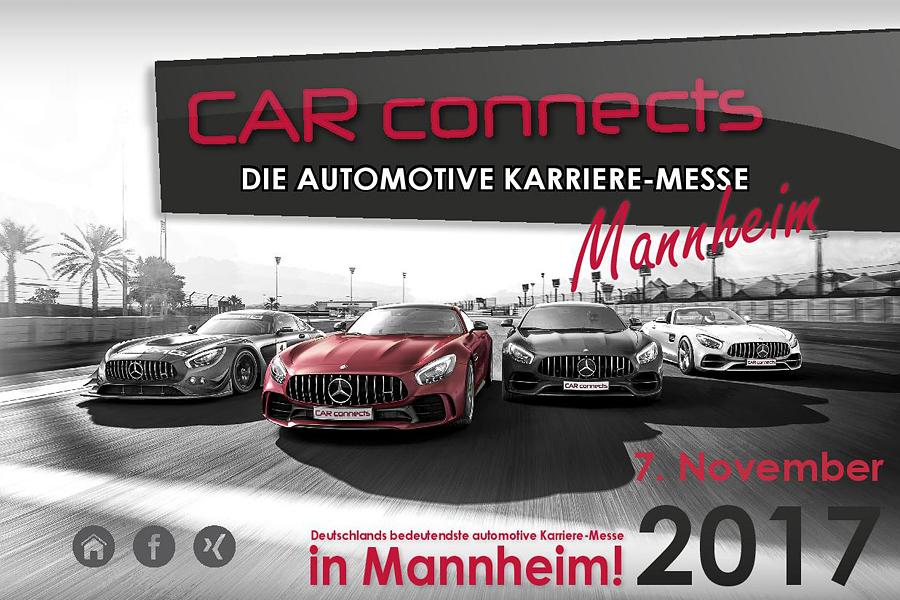 Car connects Mannheim  2017 - die automotive Karriere-Messe