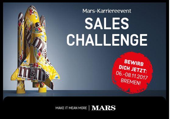 Bewerbungsschluss Sales Challenge