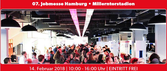 7. Jobmesse Hamburg am 14. Februar 2018 im Millerntor-Stadion