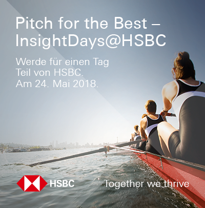 Pitch for the Best - InsightDays@HSBC