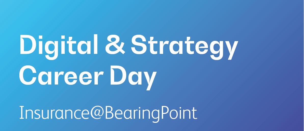 Bewerbungsschluss Digital & Strategy Career Day