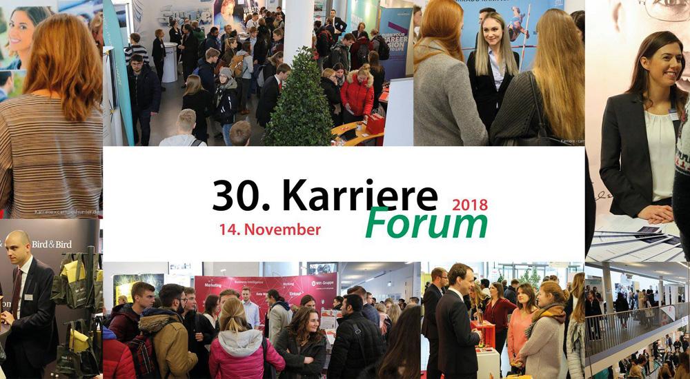 KarriereForum - Die Firmenkontaktmesse an der Uni Bayreuth