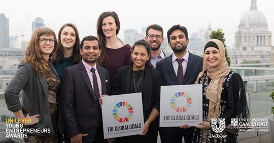 Bewerbungsschluss Unilever Young Entrepreneurs Awards 2018