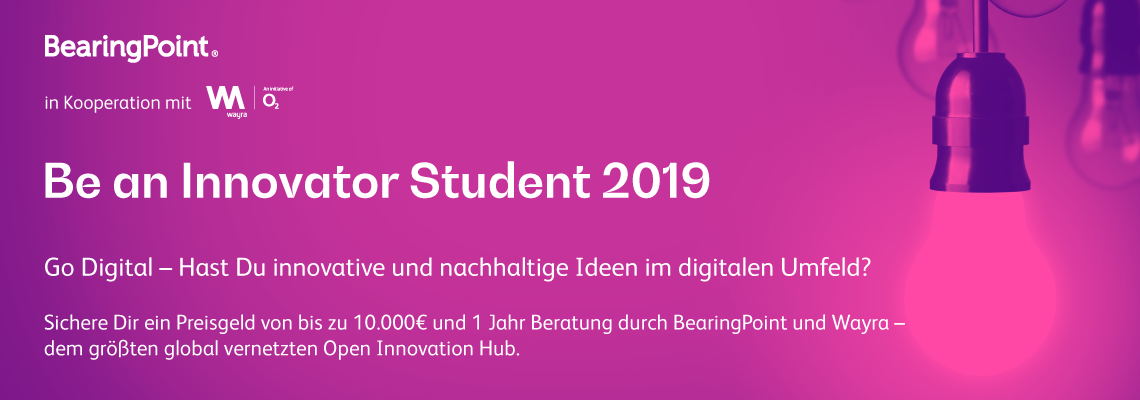 Be an Innovator Student 2019