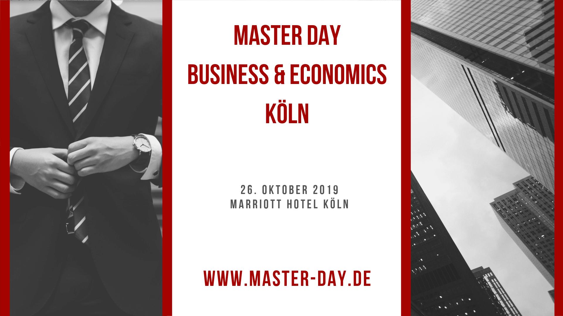 Master Day Business & Economics Köln