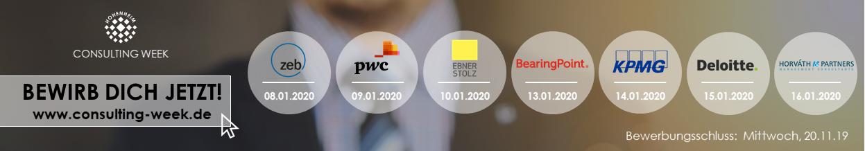 Hohenheim Consulting Week 2020