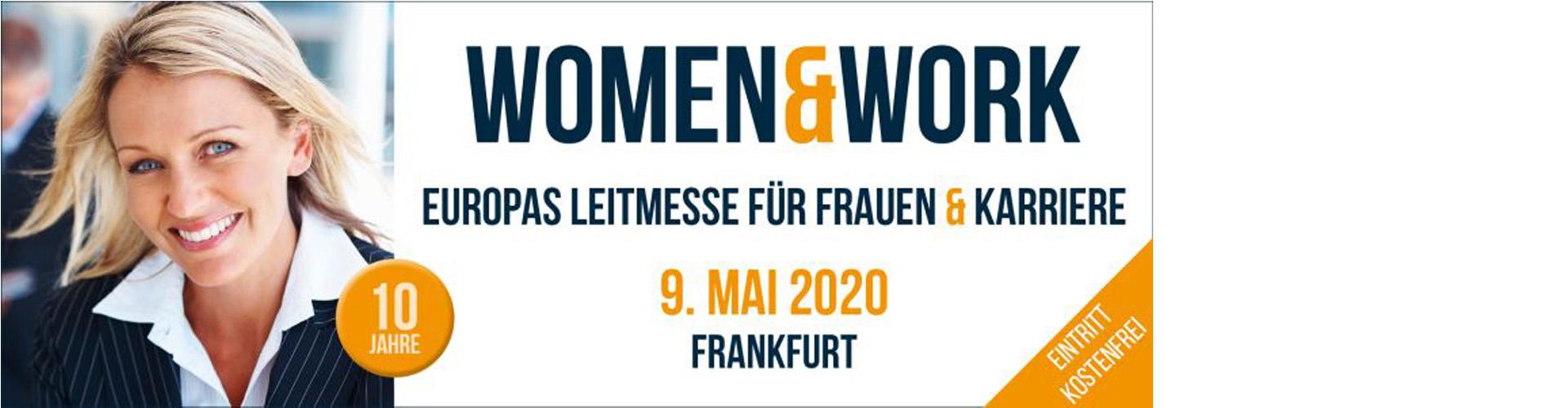 women&work - Europas Leitmesse für Frauen und Karriere