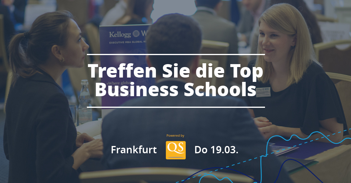QS Connect MBA Frankfurt – MBA-Event