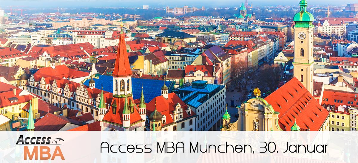 Die Exklusive MBA Veranstaltung am 30. Januar in München   Lernen Sie die Top Business Schulen kennen!