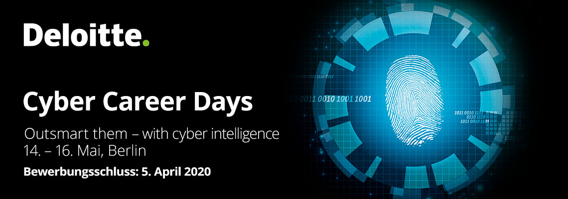 Cyber Career Days | 14. - 16. Mai 2020, Berlin