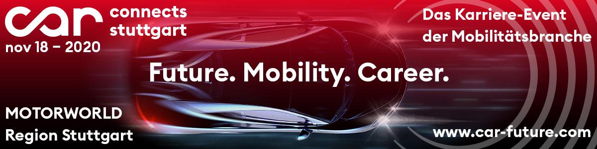 Car Connects Stuttgart 2020 – Das Karriere-Event der Mobilitätsbranche