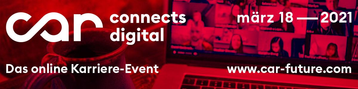 Car Connects Digital 2021 – Das online-Karriere-Event der Mobilitätsbranche - 18. März 2021