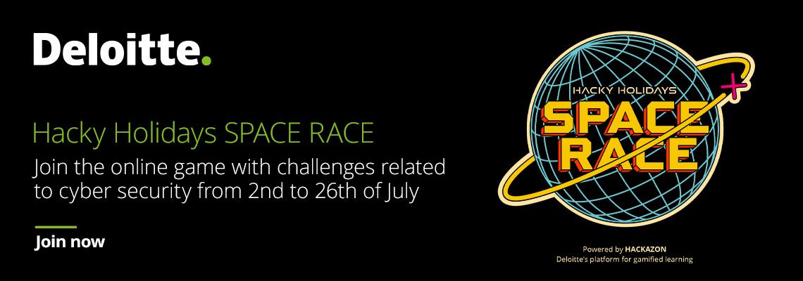 Hacky Holidays SPACE RACE