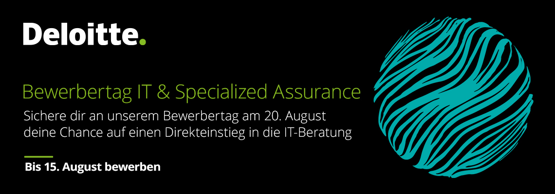 Bewerbertag IT & Specialized Assurance