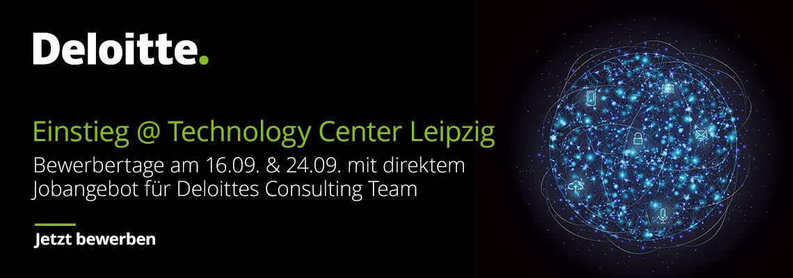 Bewerbertag Technology Center Leipzig: Werde Berater:in