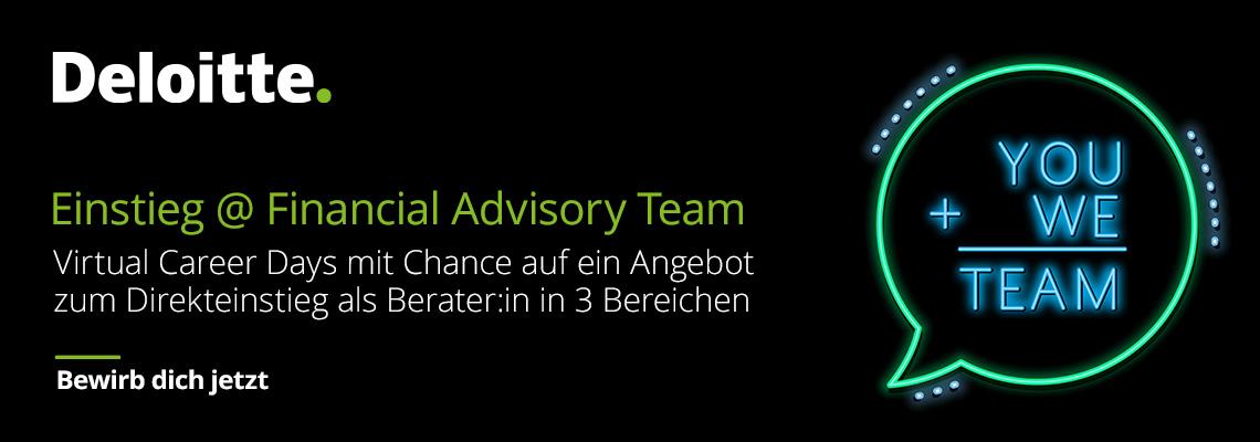 Financial Advisory Virtual Career Day