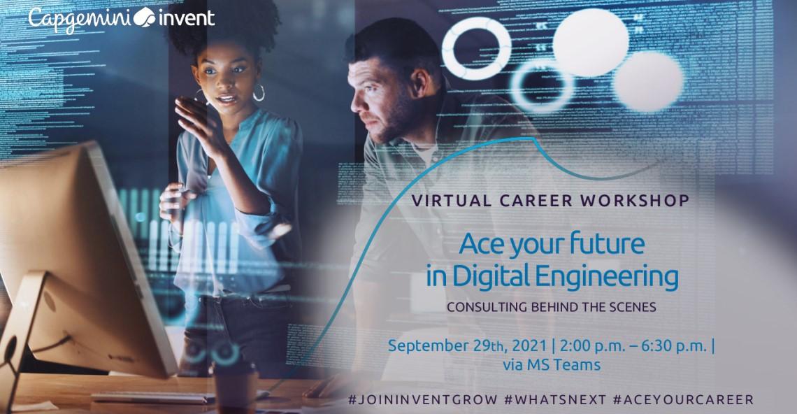 Virtual CAREER WORKSHOP – Ace your future in Digital Engineering